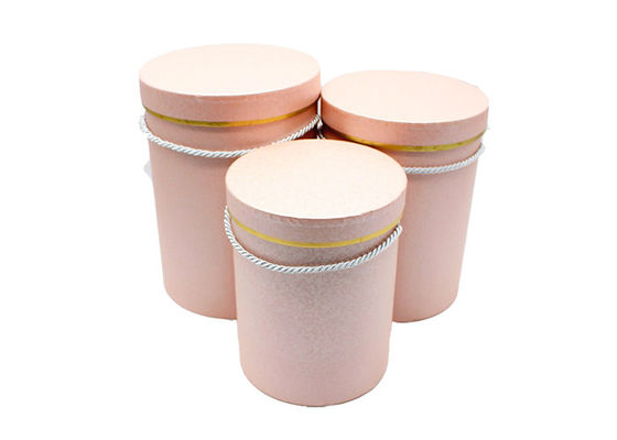 China Various Color Round Cardboard Tubes Round Paper Box Large Size For Flower Packaging proveedor