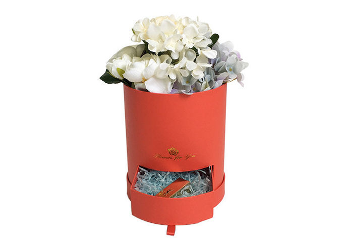 Matte Lamination Flower Bouquet Boxes , DIY Flower Gift Boxes For Packaging
